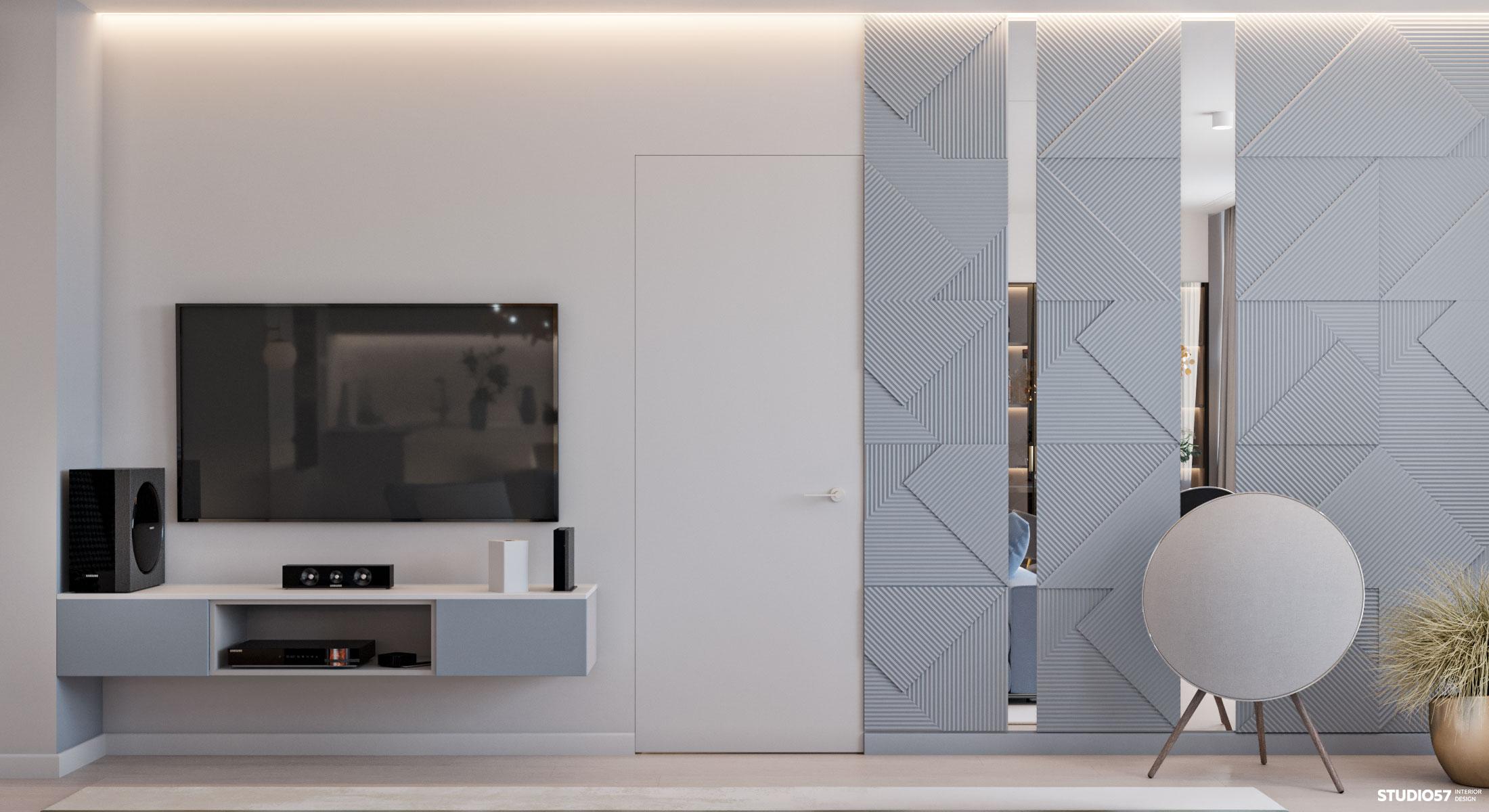 Дизайн кухни-гостиной. Вид 5.