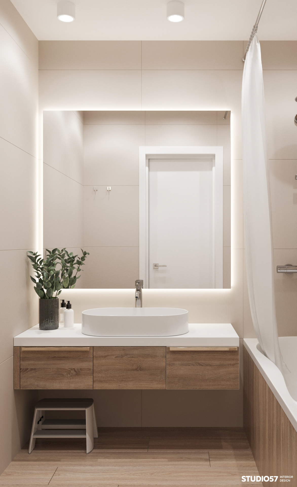 Ванная комната. Вид 1.