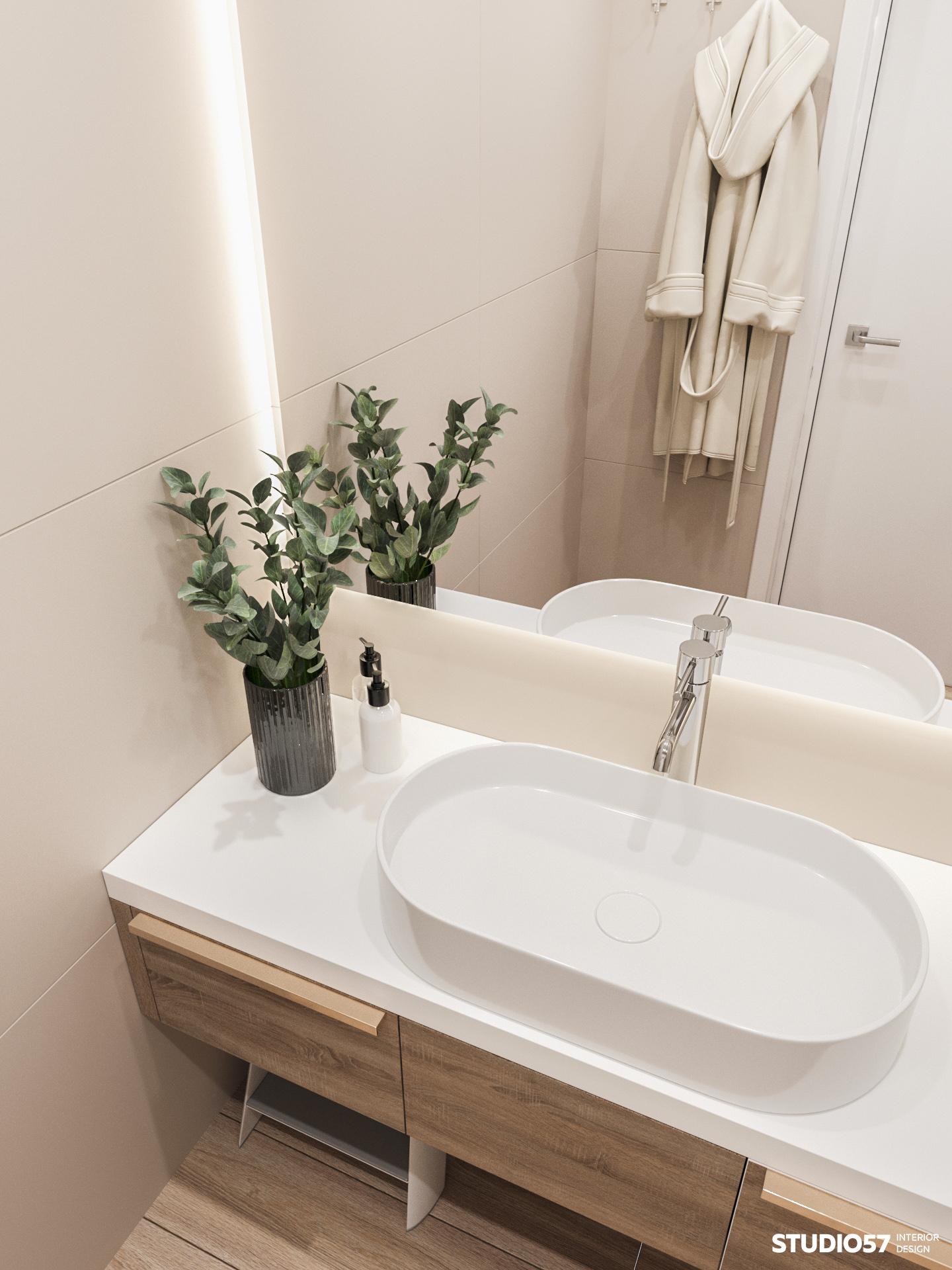 Ванная комната. Вид 3.
