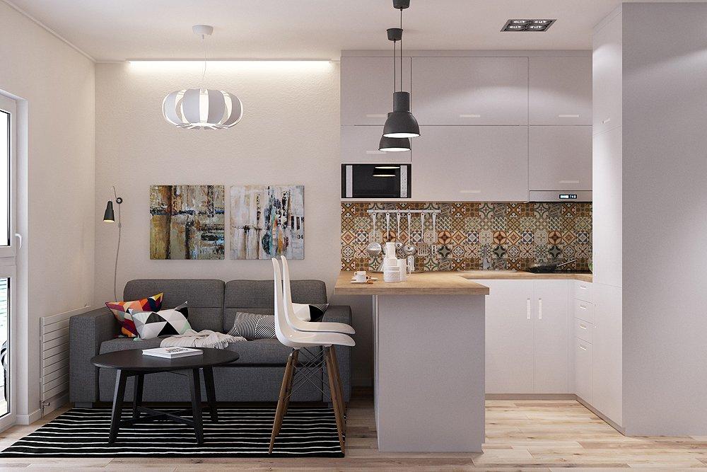 Дизайн квартиры с необычной планировкой