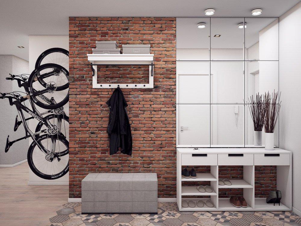 Разместить велосипед в квартире