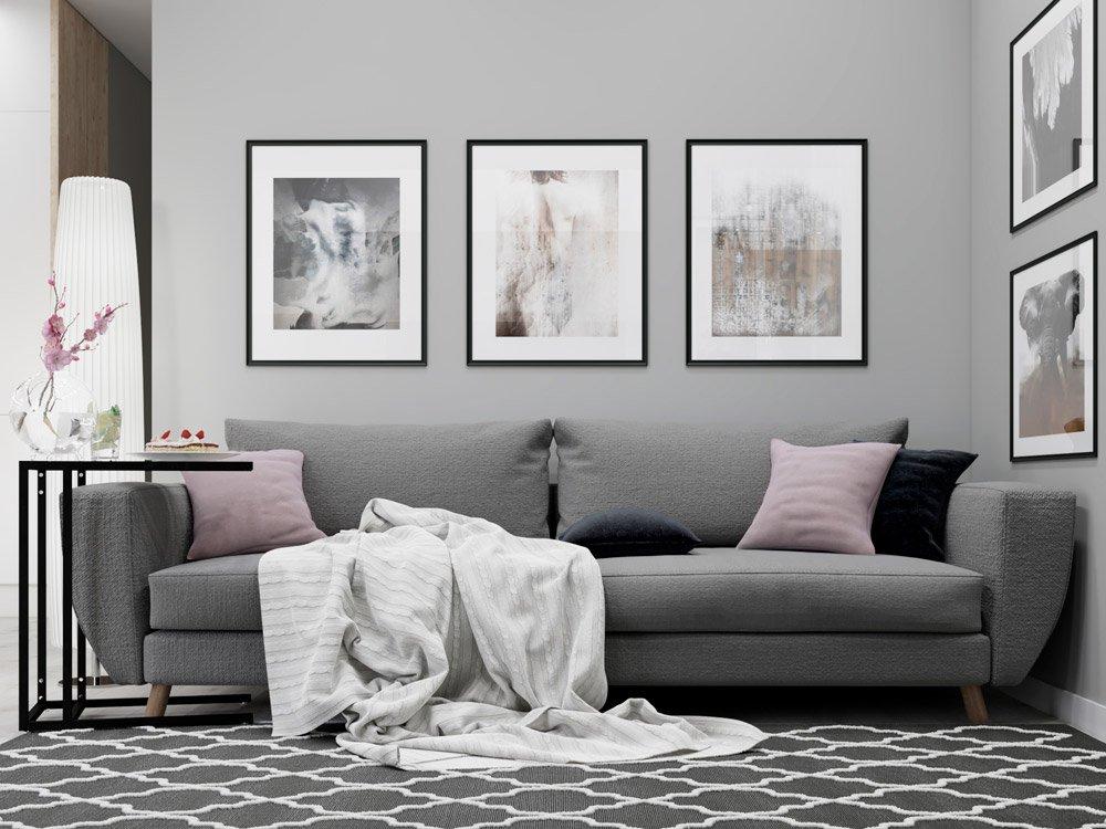 Фото дивана в гостиной
