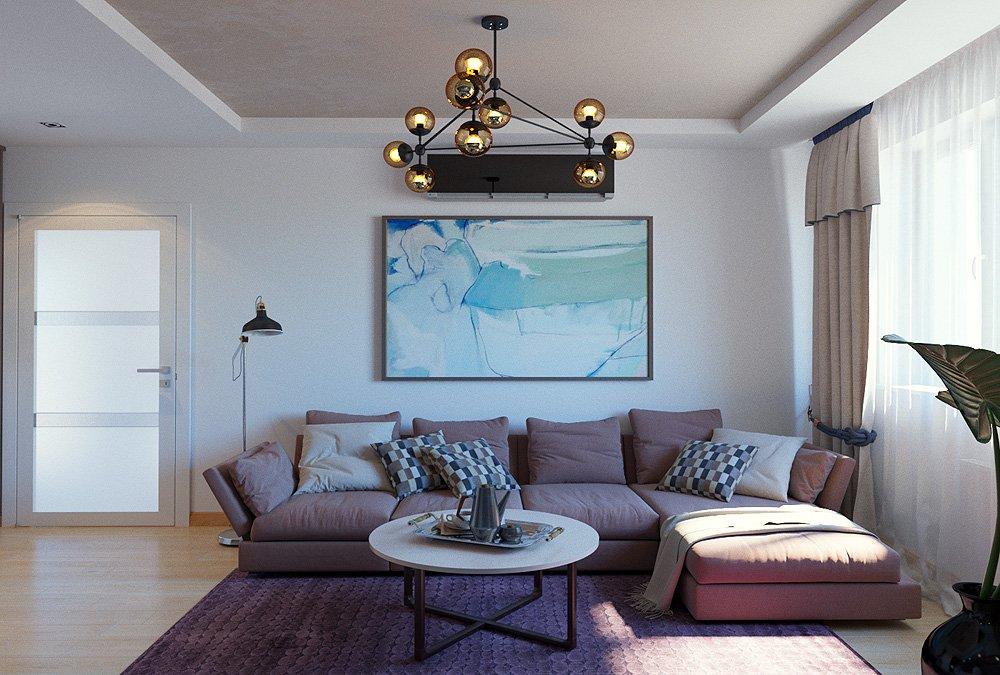 Зона отдыха в гостиной дизайн