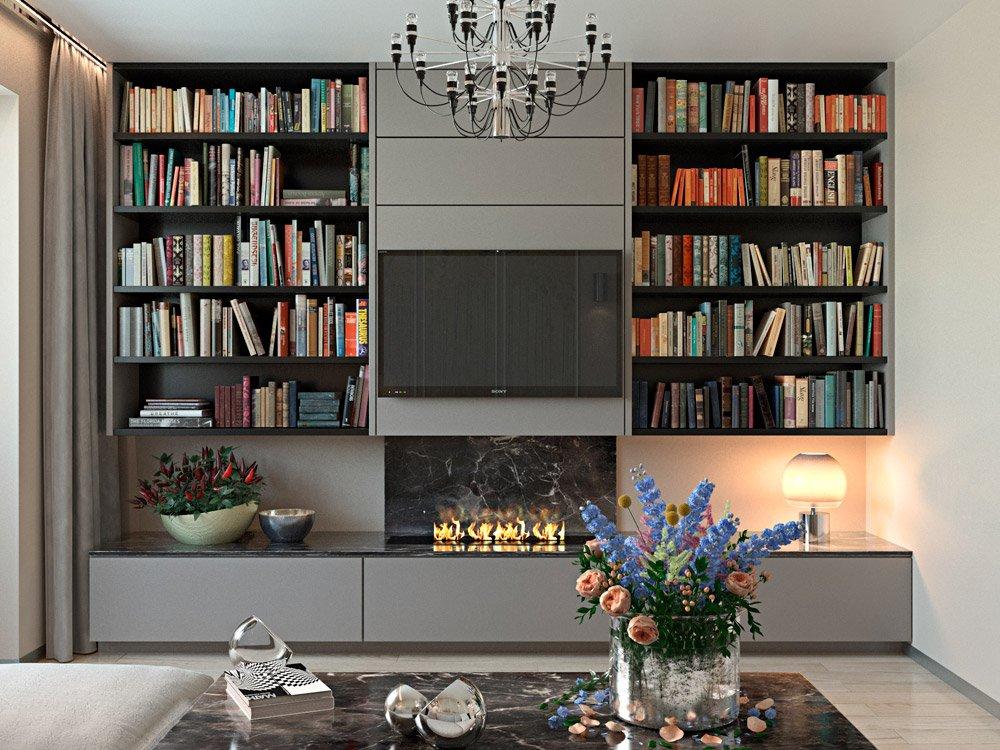 Фото шкафа для книг дизайн