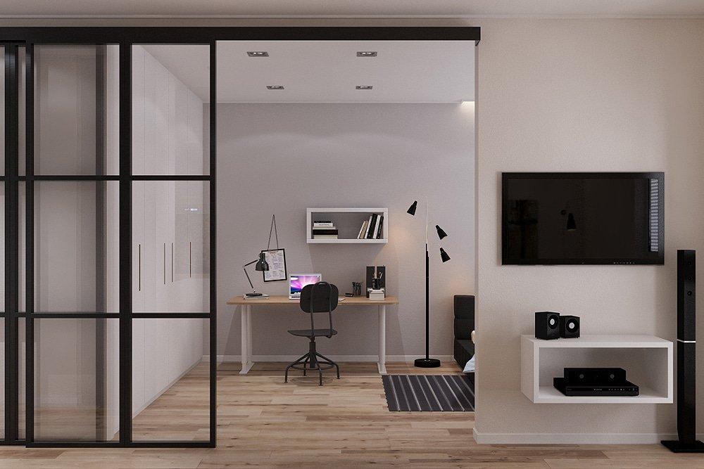 Раздвижные стены в квартире