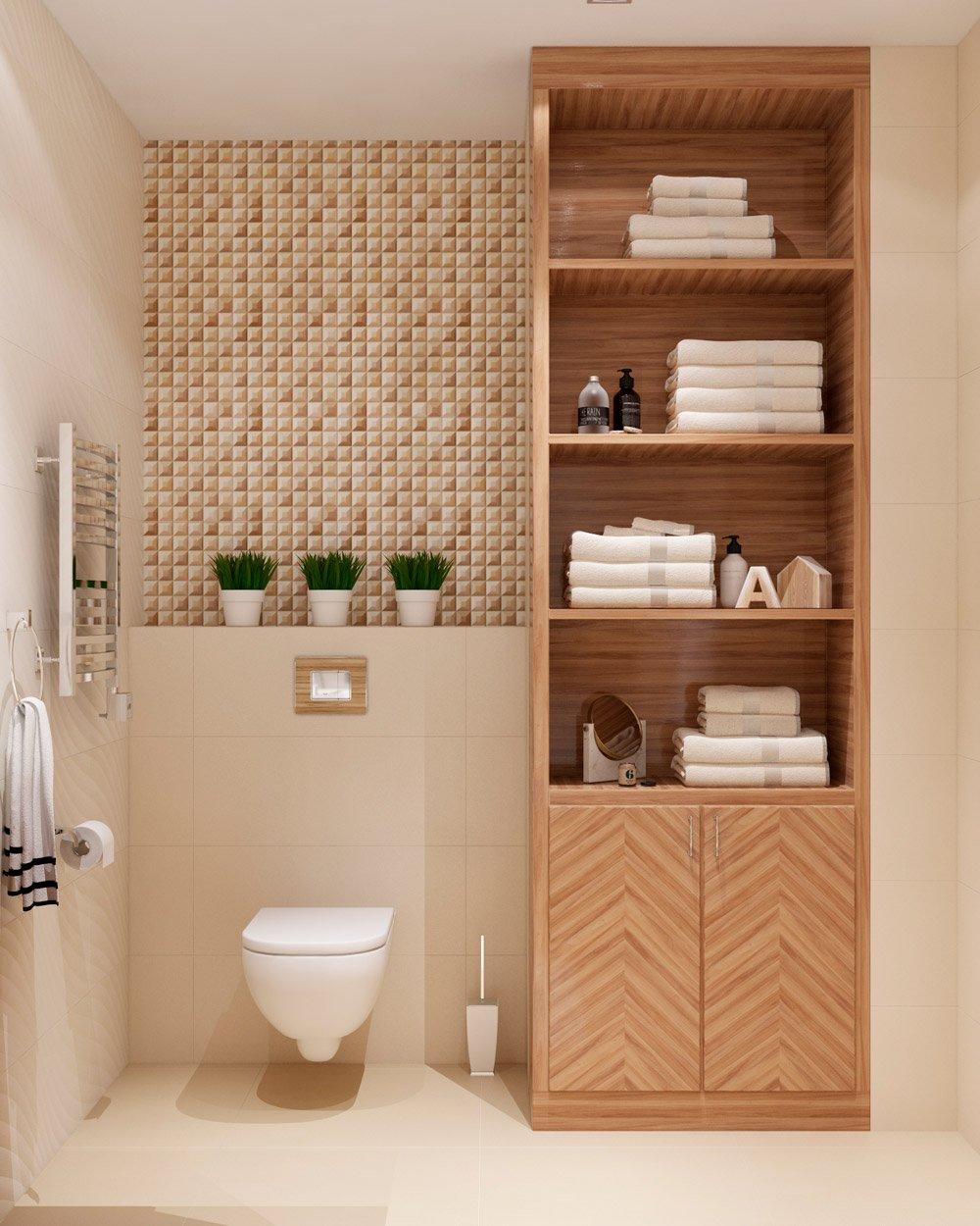 Дизайн шкафа для ванной комнаты