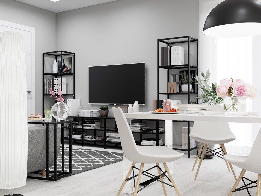 Графический дизайн мебели в гостиной