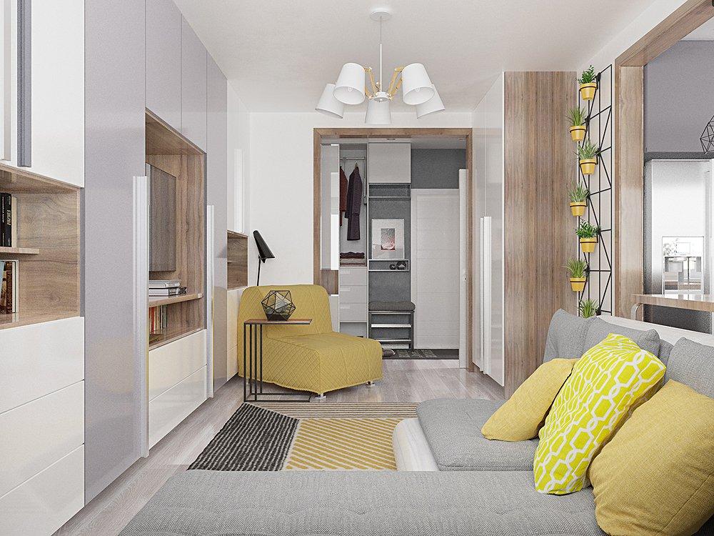 Фото планировки гостиной в небольшой квратире