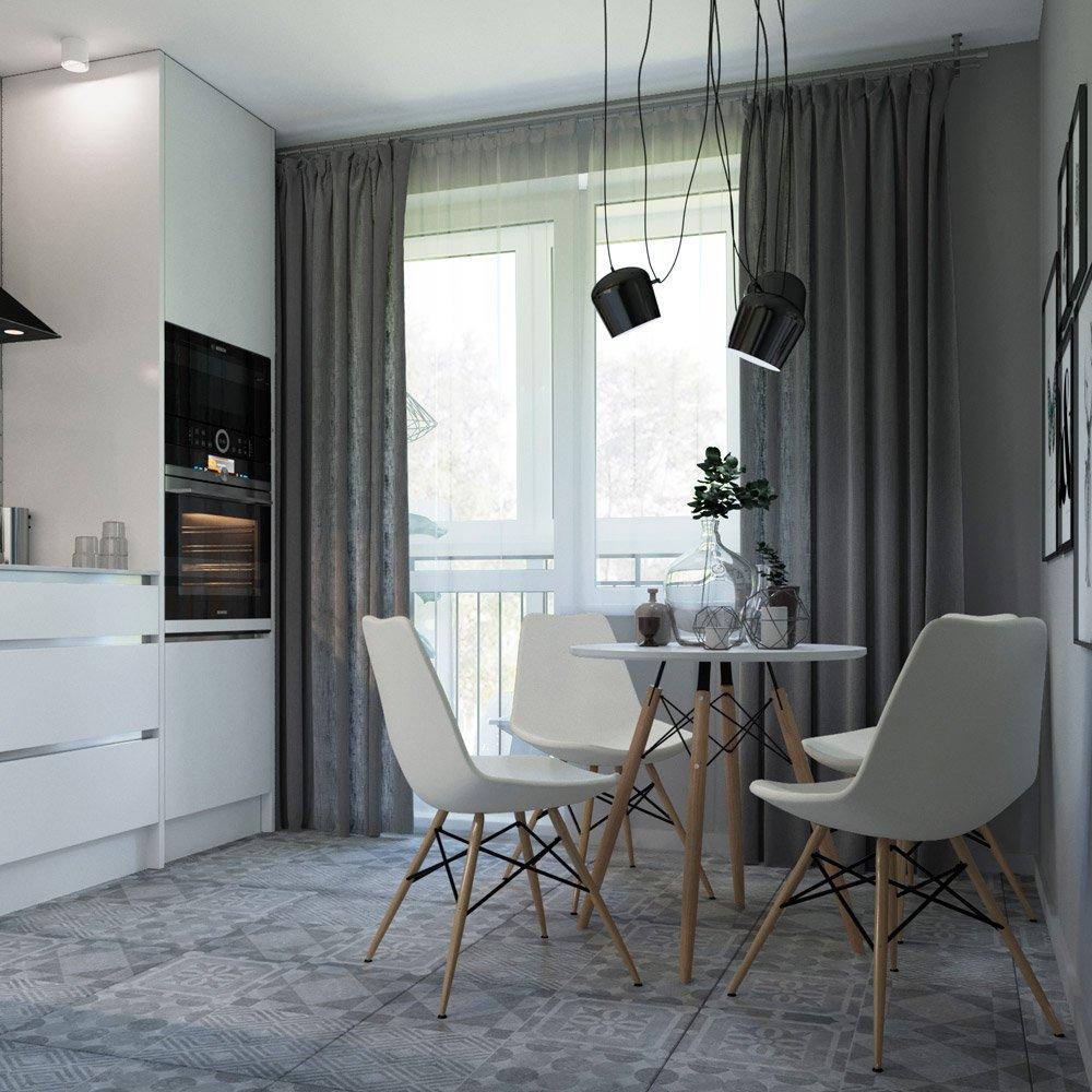 Дизайн проект квартиры 41 м кв