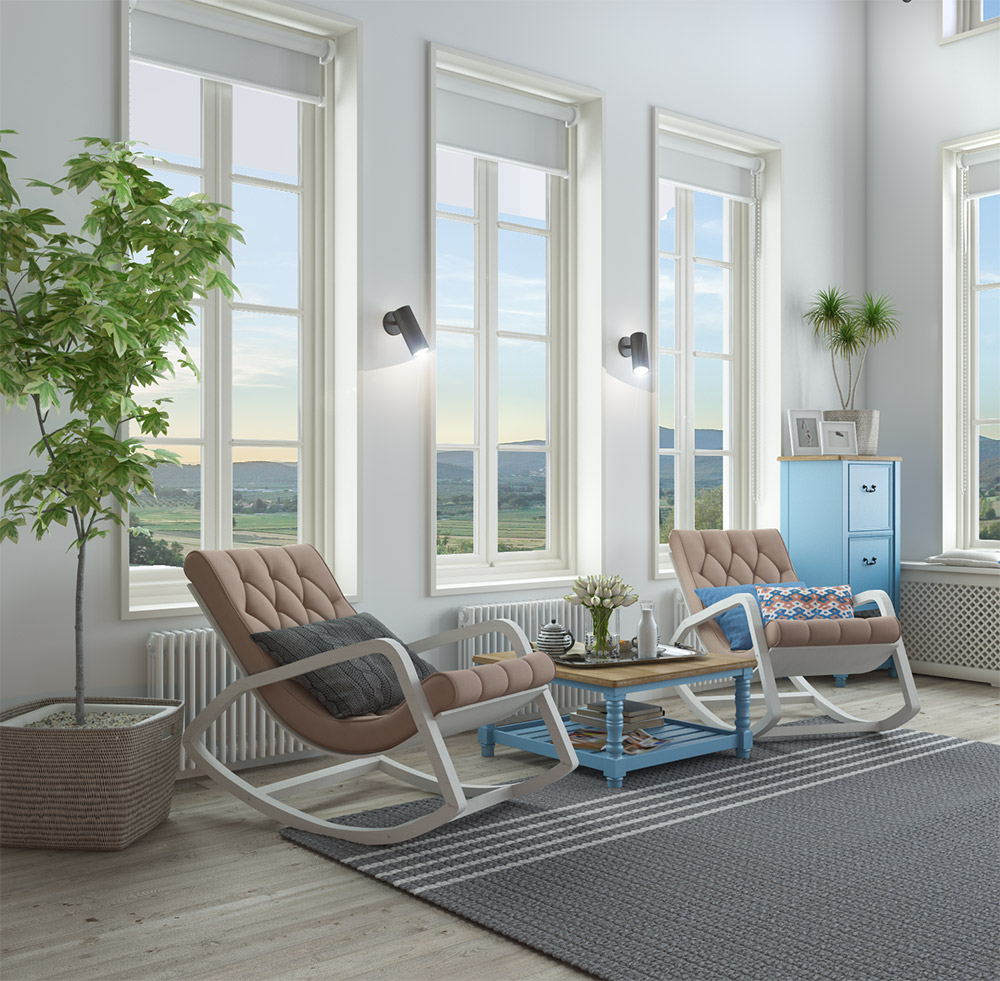 Дизайн современных кресел-качалок для дома
