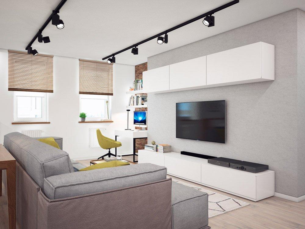 Дизайн осветительных приборов в интерьере комнаты
