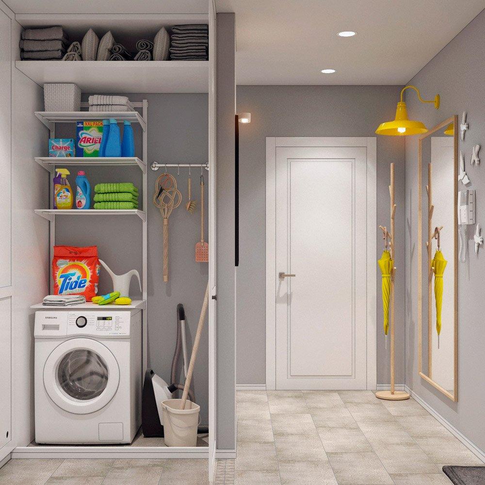 Шкаф для стиральных принадлежностей