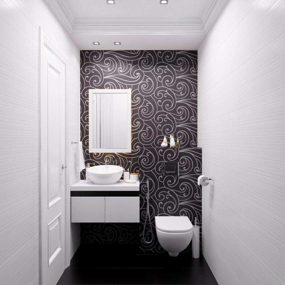 Раздельный туалет и ванна