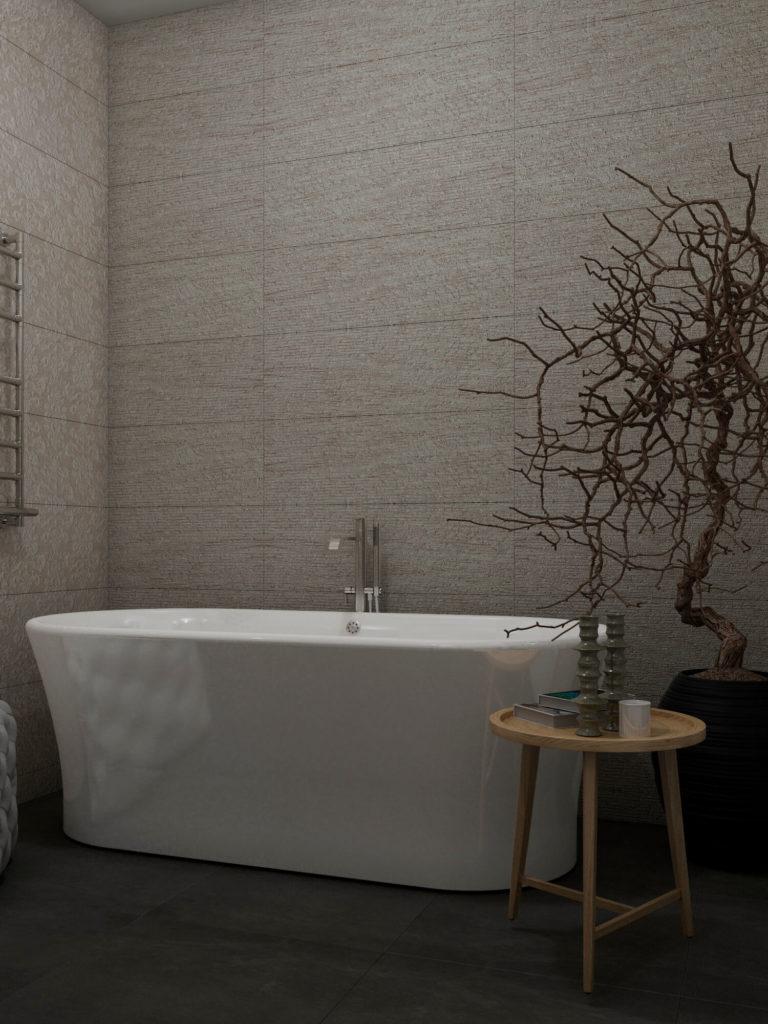 Ванная в темном стиле фото