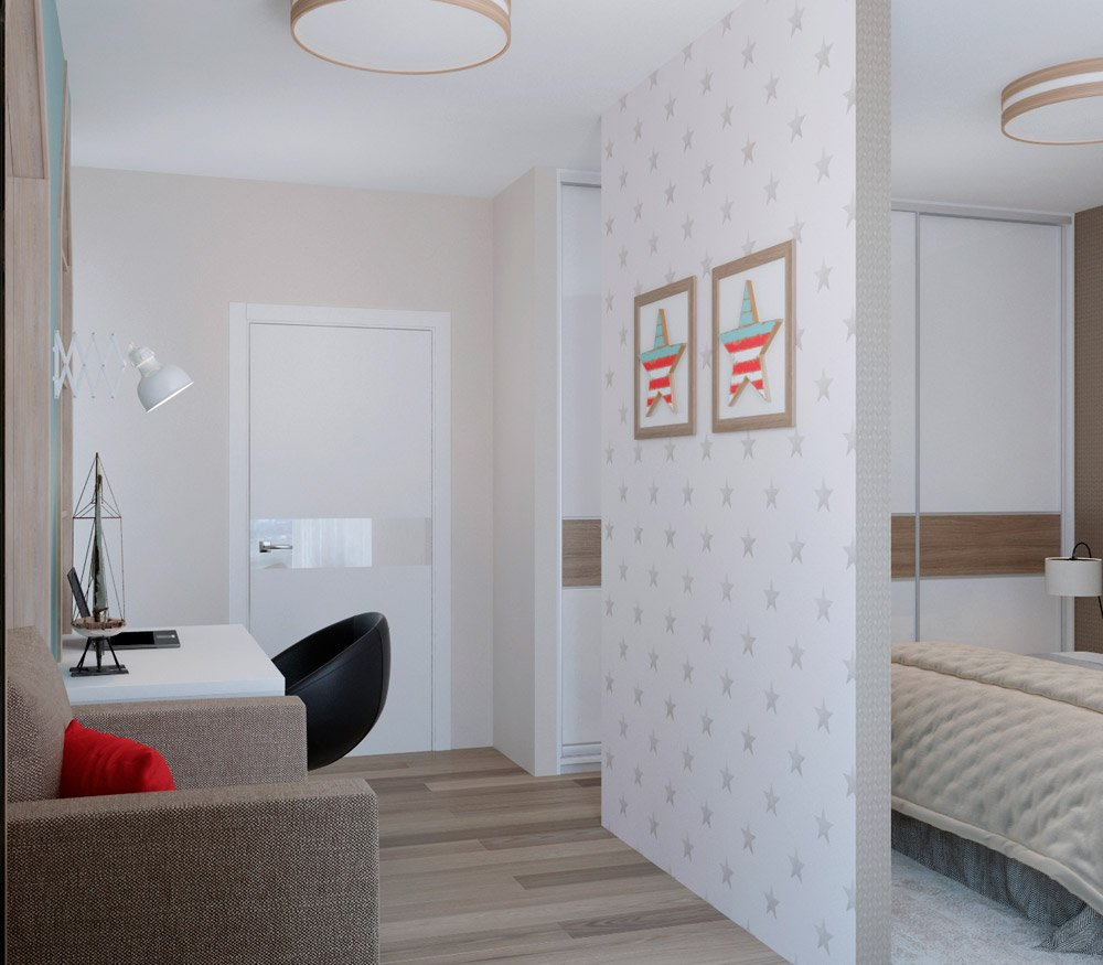 Дизайн квартиры без дверей