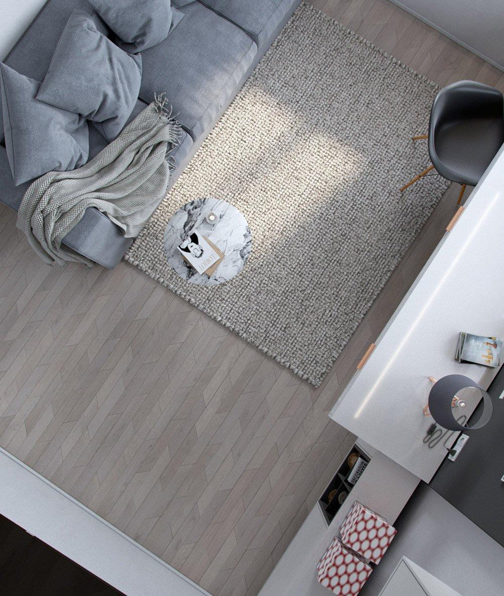 Дизайн интерьера кабинета вид сверху