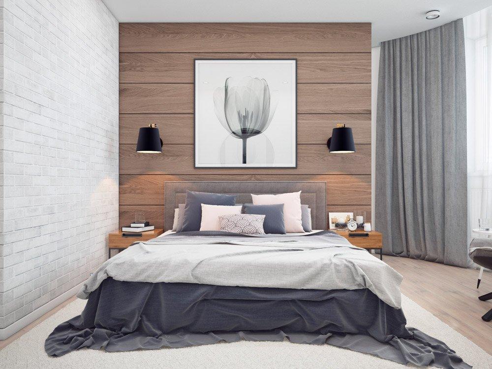 Стильный дизайн спальни для молодёжи
