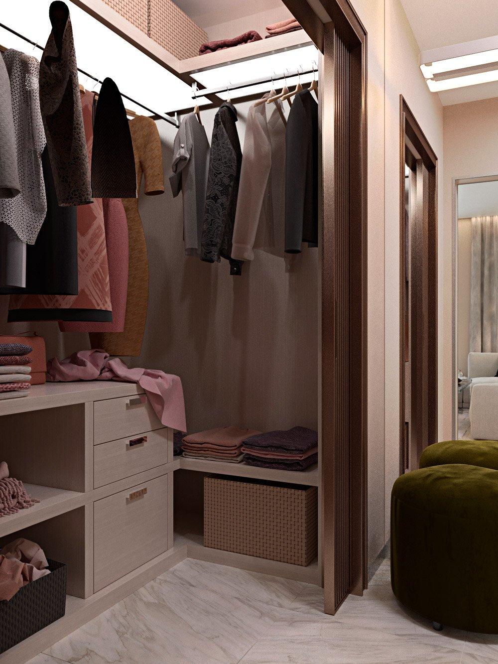 Вещи в гардеробной