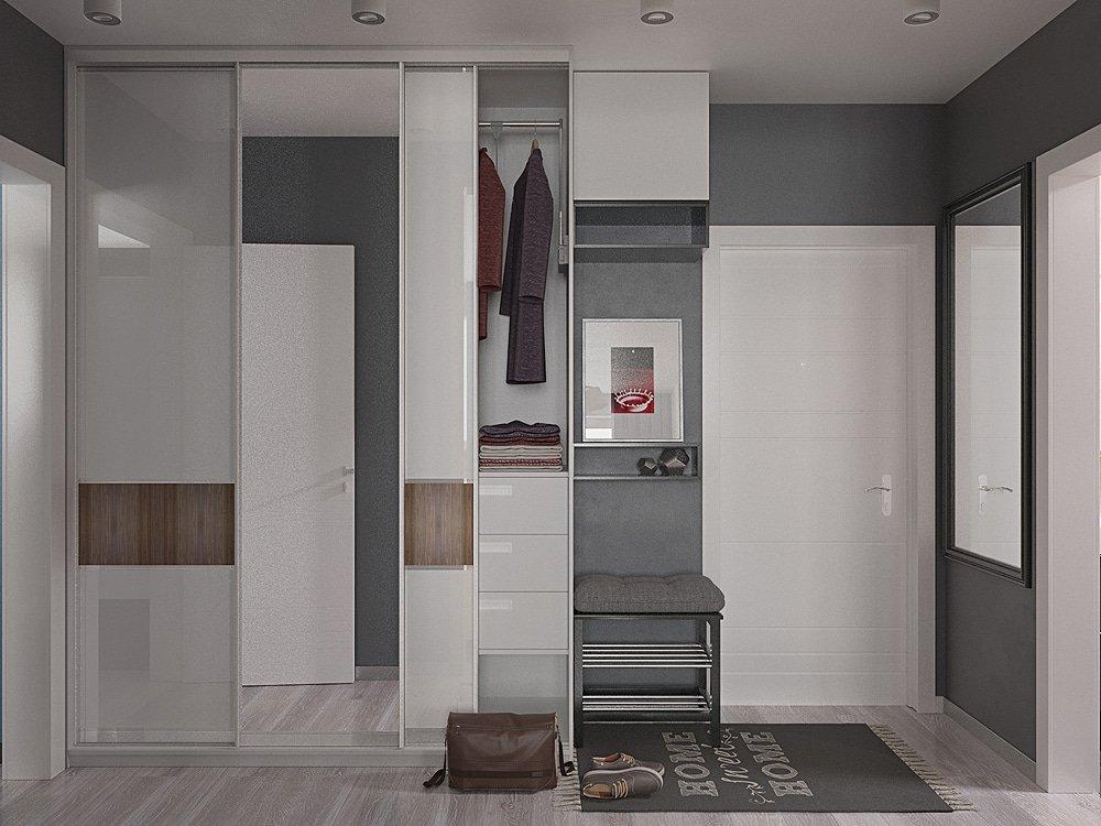 Дизайн прихожей в квартире для всей семьи