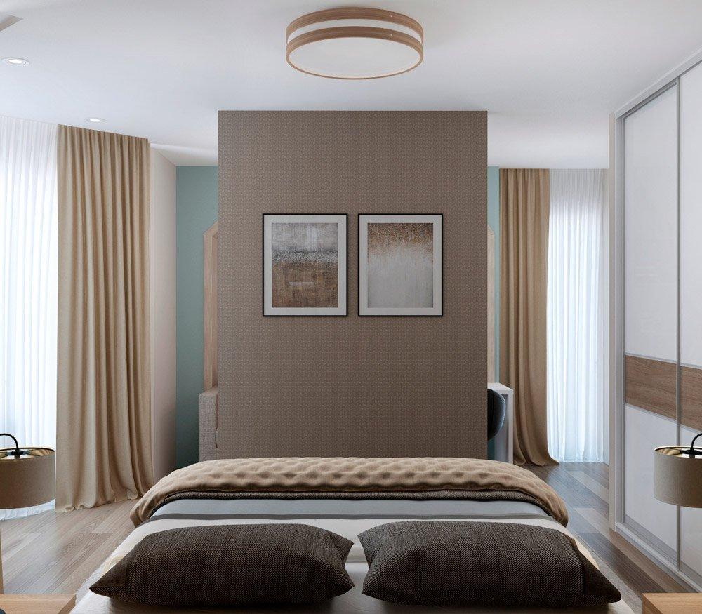 Фото перегородки в спальне
