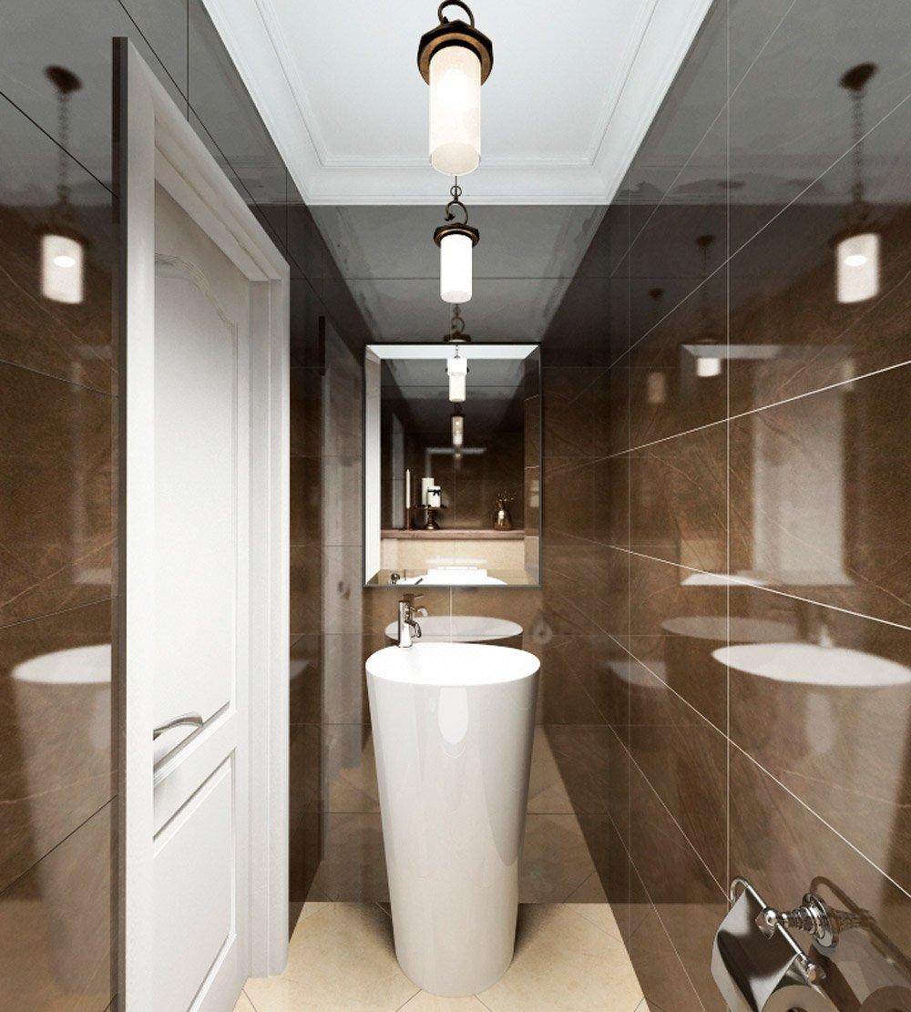 Дизайн раковины в туалете