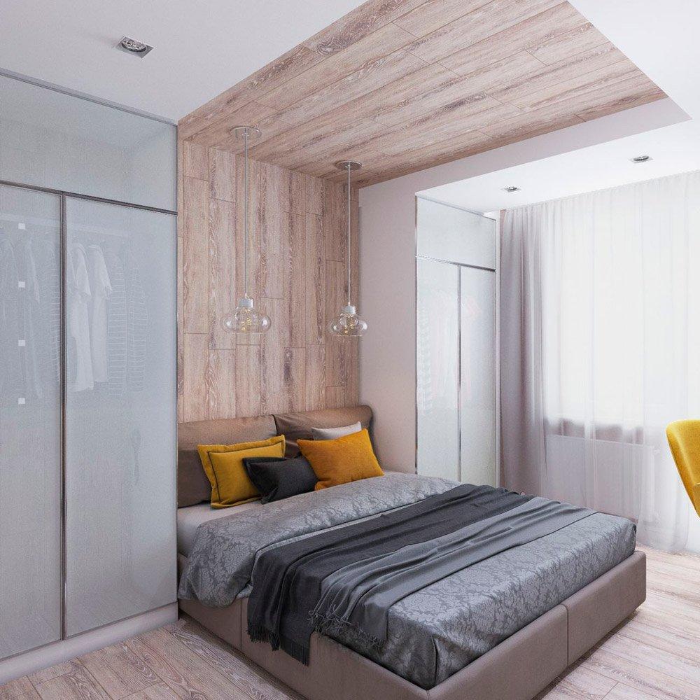 Два шкафа в спальной комнате