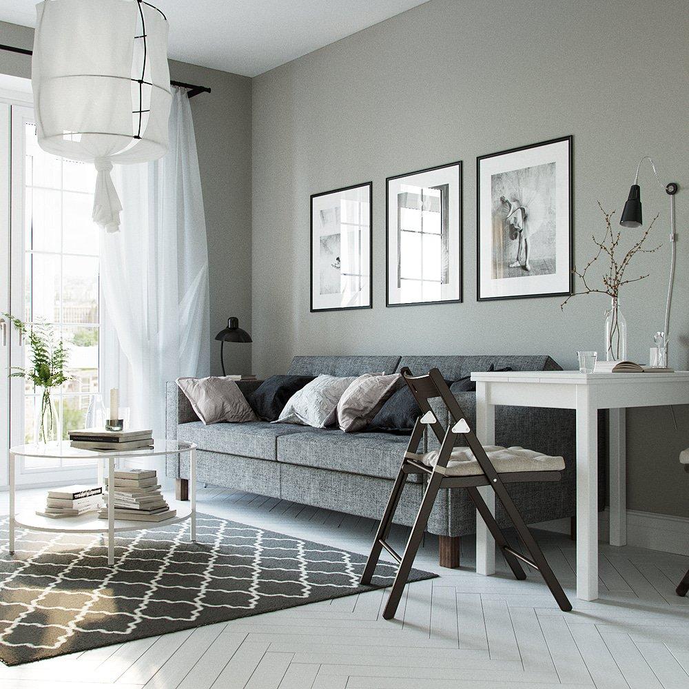 Дизайн интерьера гостиной очень маленькой квартиры