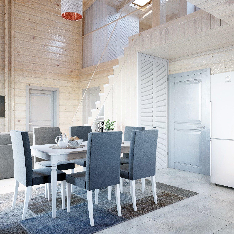 Реальное фото дизайн проекта двухэтажного дома
