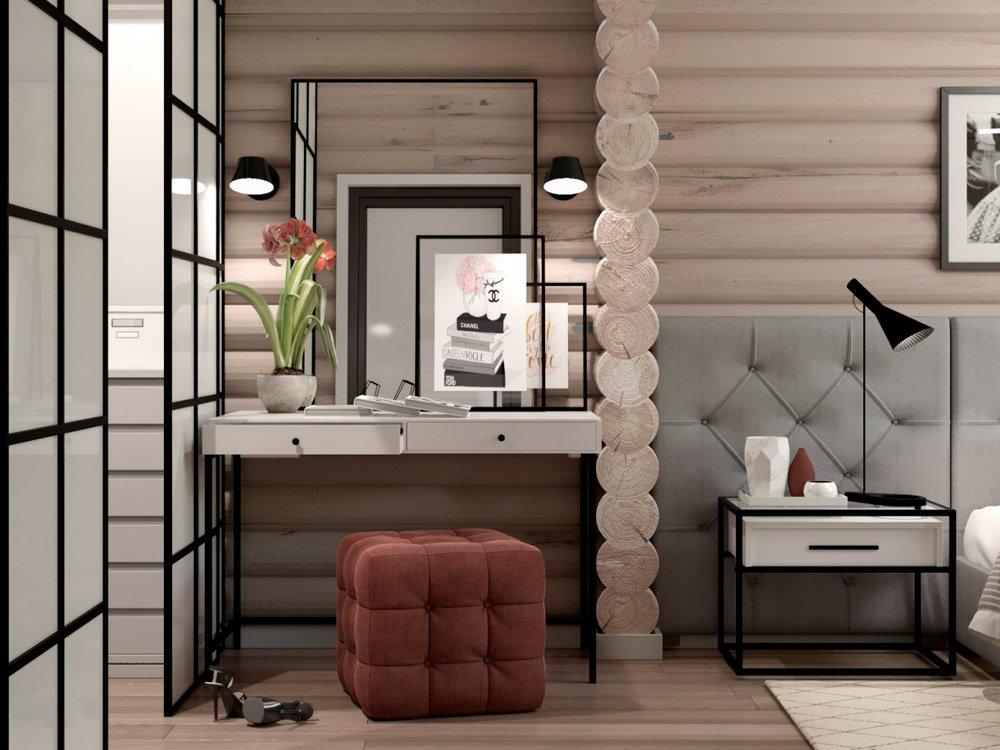 Дизайн туалетного столика в доме
