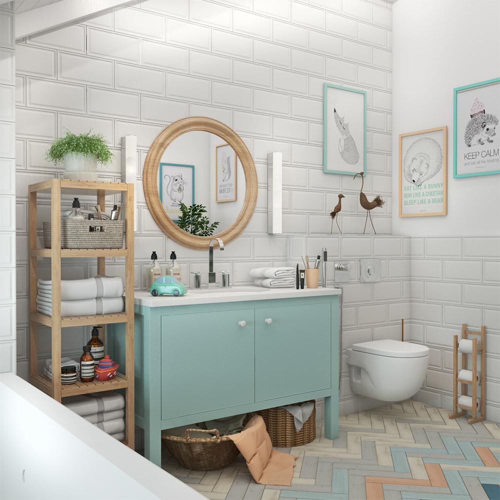 Отдельная ванна для ребёнка