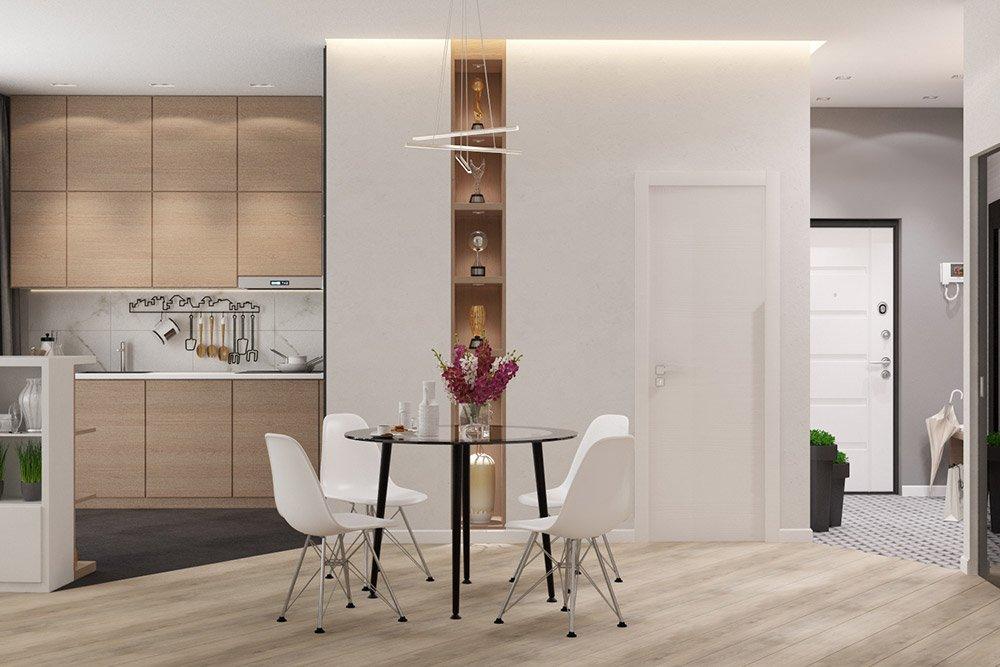 Планировка квартиры 42 м кв