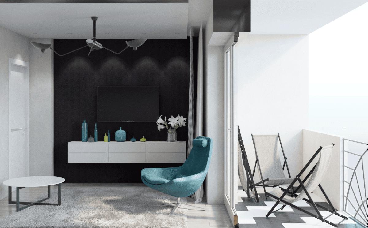 Классический дизайн комнаты отдыха