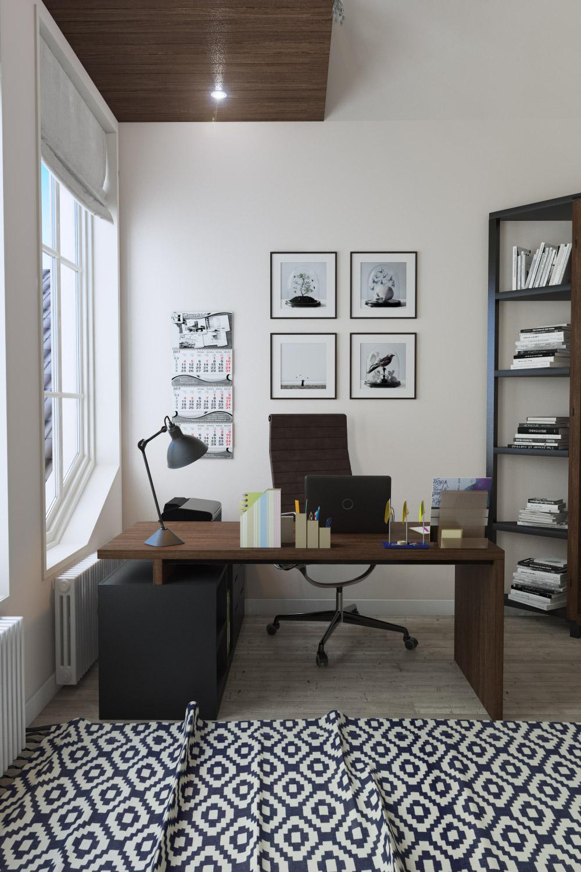 Планировка кабинета в доме