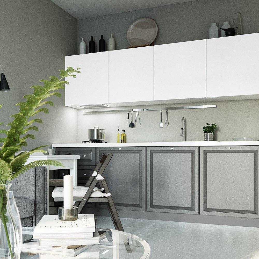 Комбинирование цветов в кухне