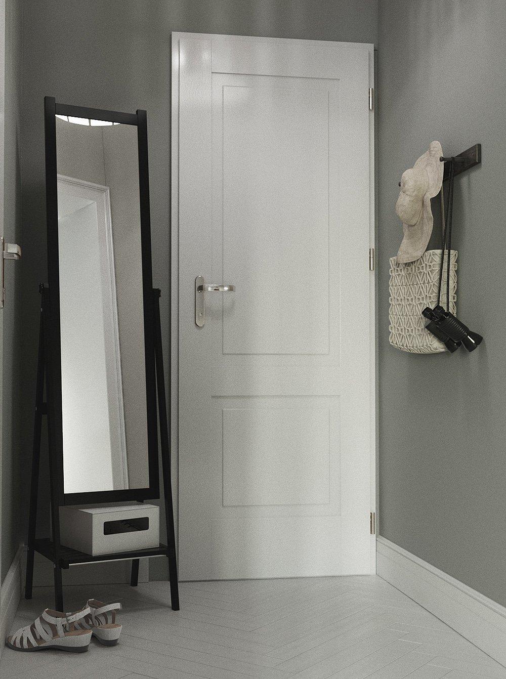 Дизайн прихожей в однокомнатной квартире