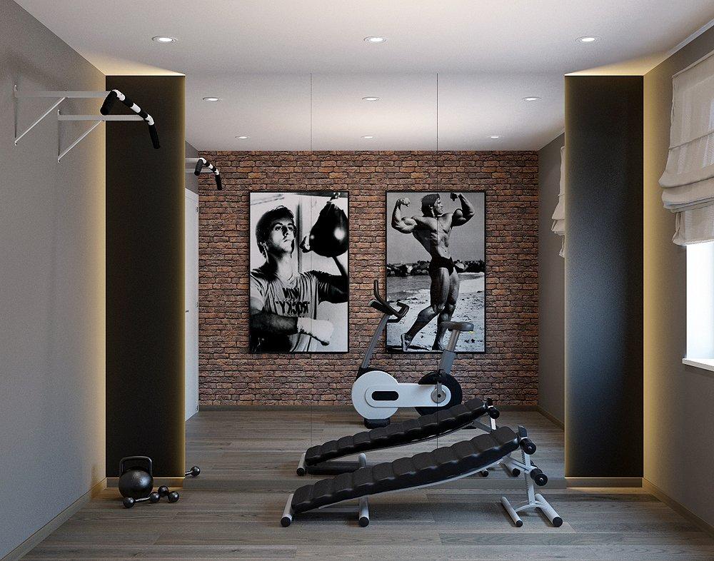 Спортзал в квартире