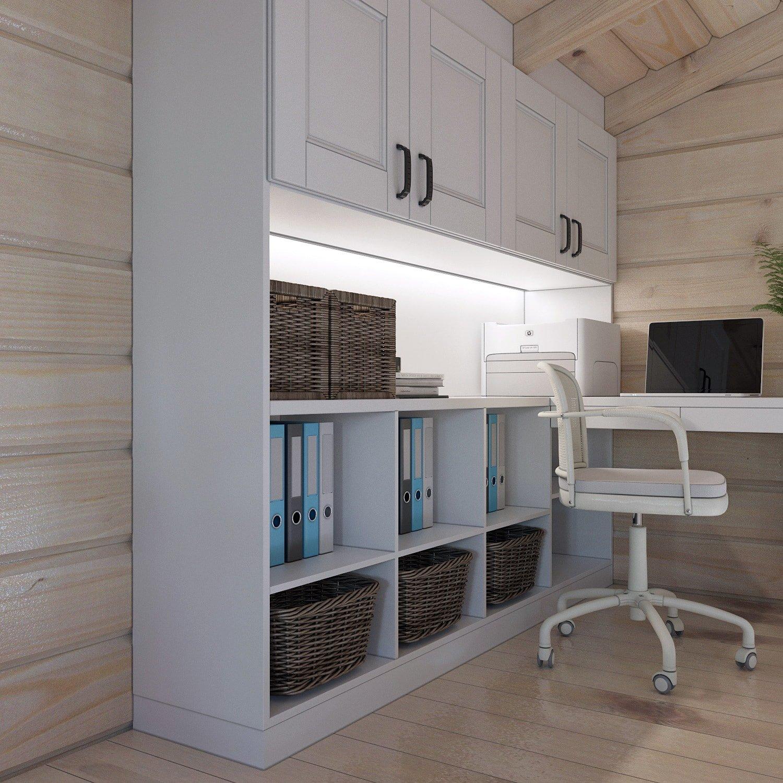 Дизайн кабинета с деревянной отделкой