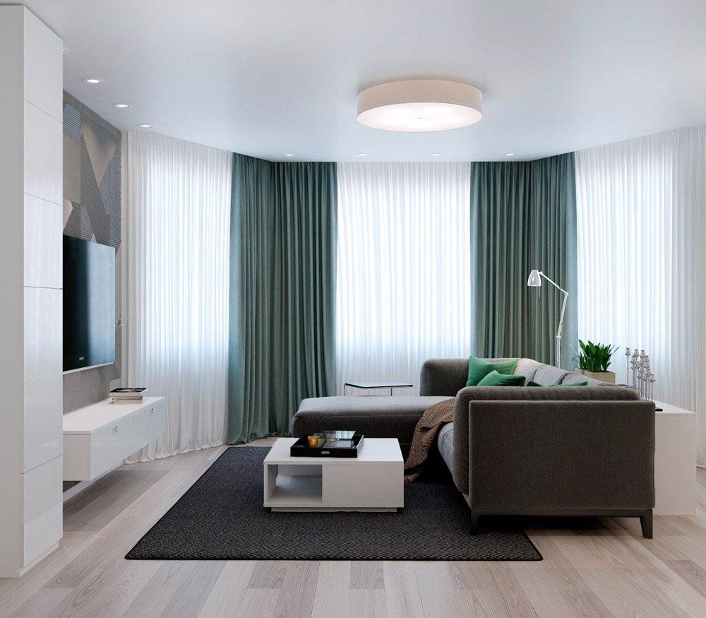 Дизайн мебели в гостиную комнату