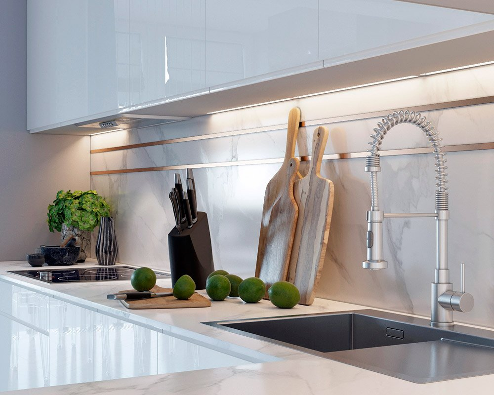 Фото столешницы в кухне