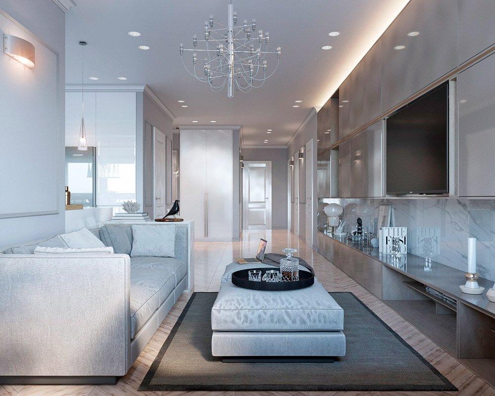 Планировка четырёхкомнатной квартиры
