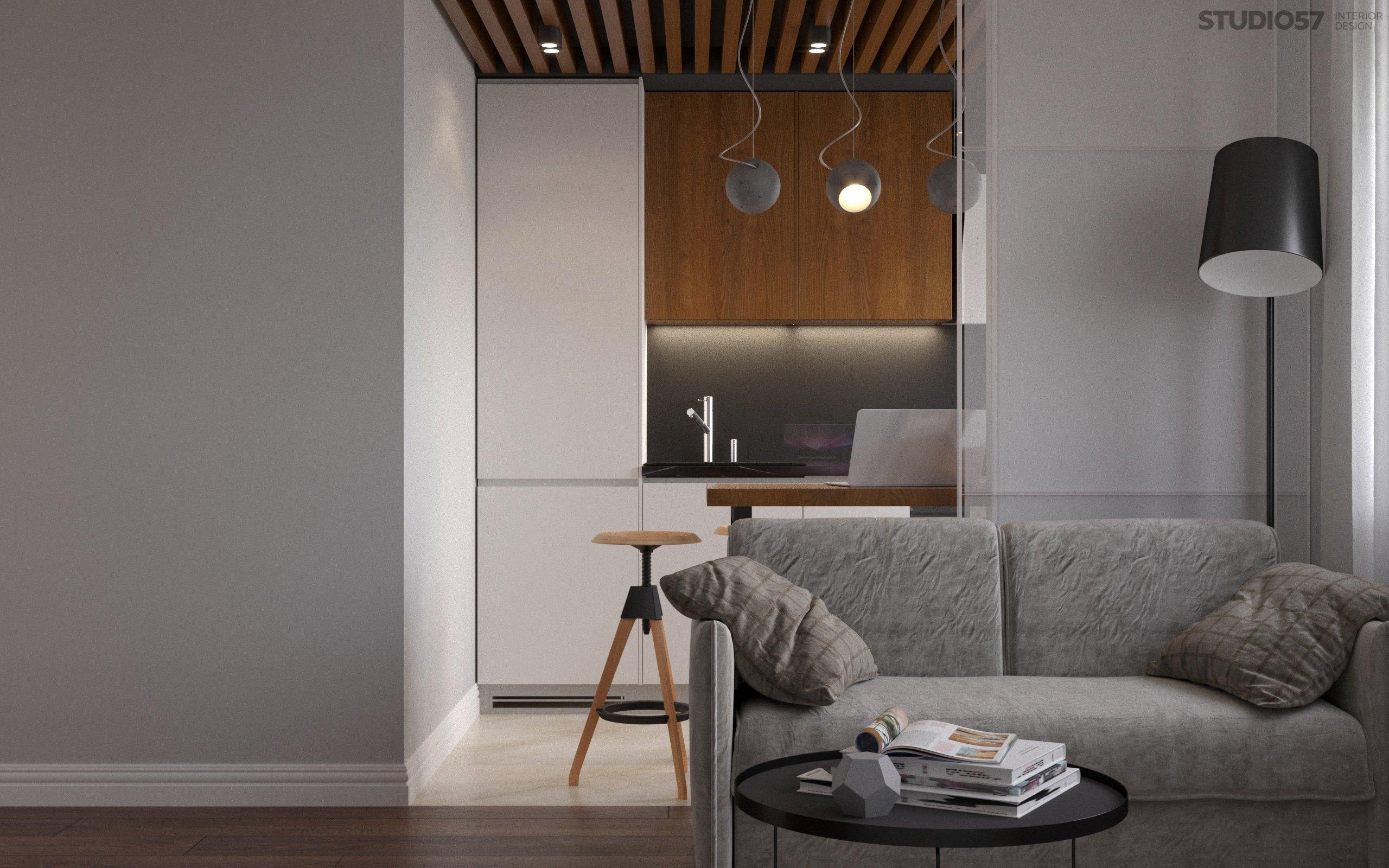 Комната в стиле минимализм фото