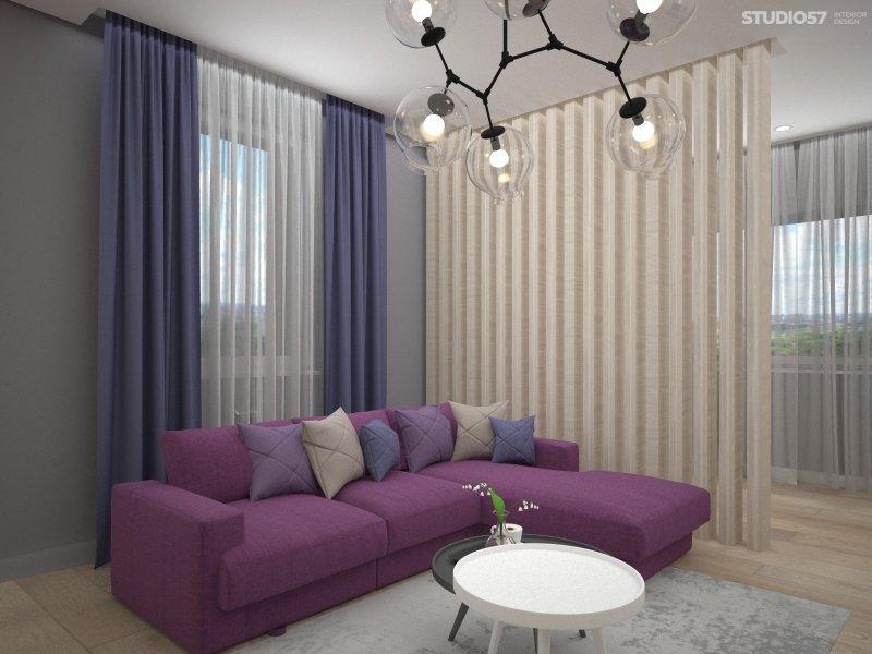 Дизайн интерьера гостиной в стиле Поп-арт