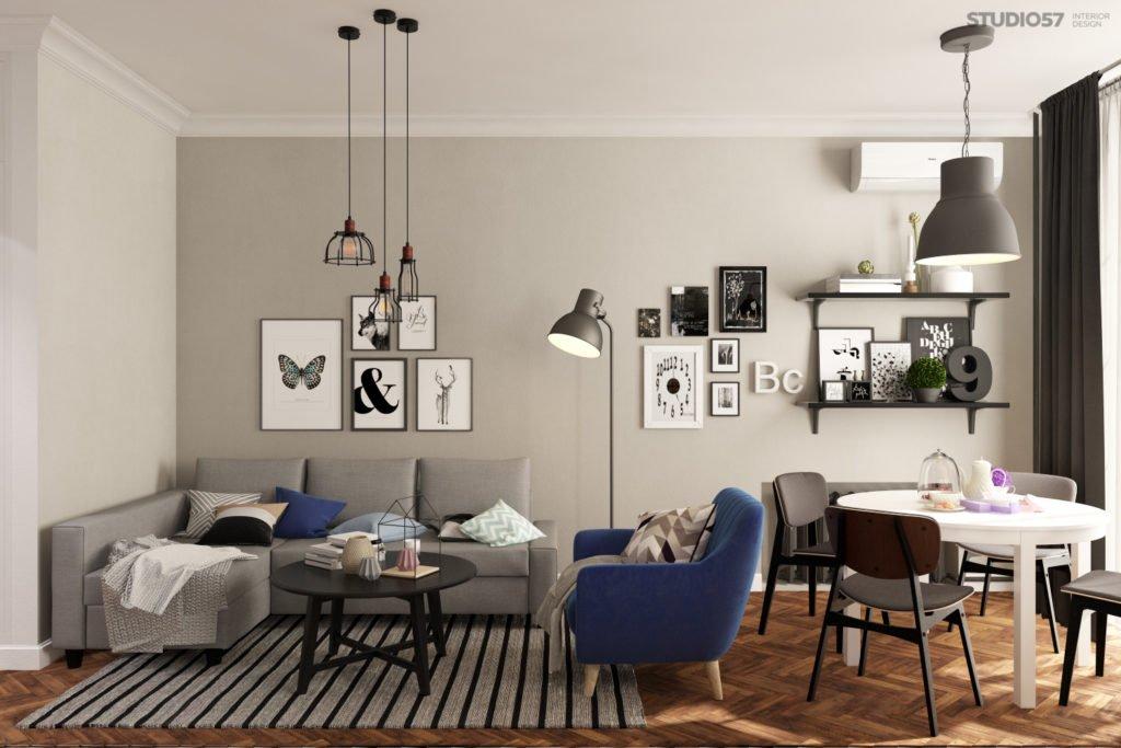 Как украсить стены в квартире фото