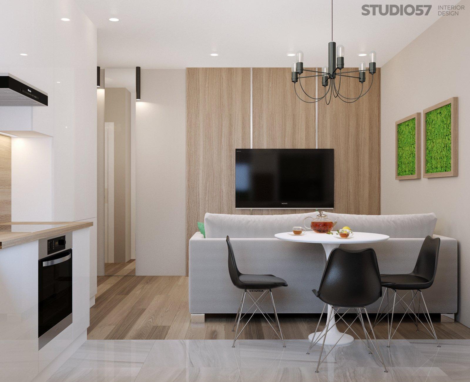 Тенденции в оформлении квартир студий