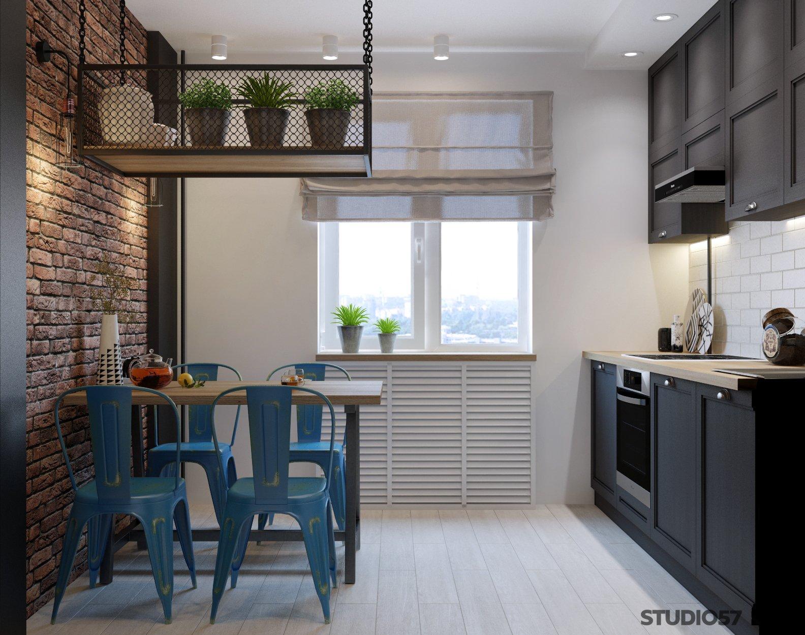 Loft style kitchen photo