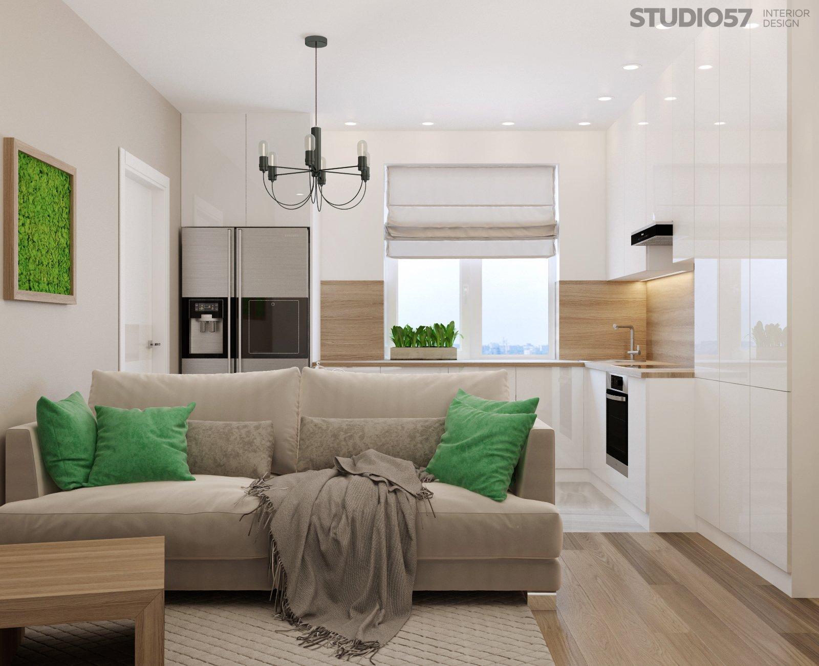 Тенденция интерьера квартиры студии