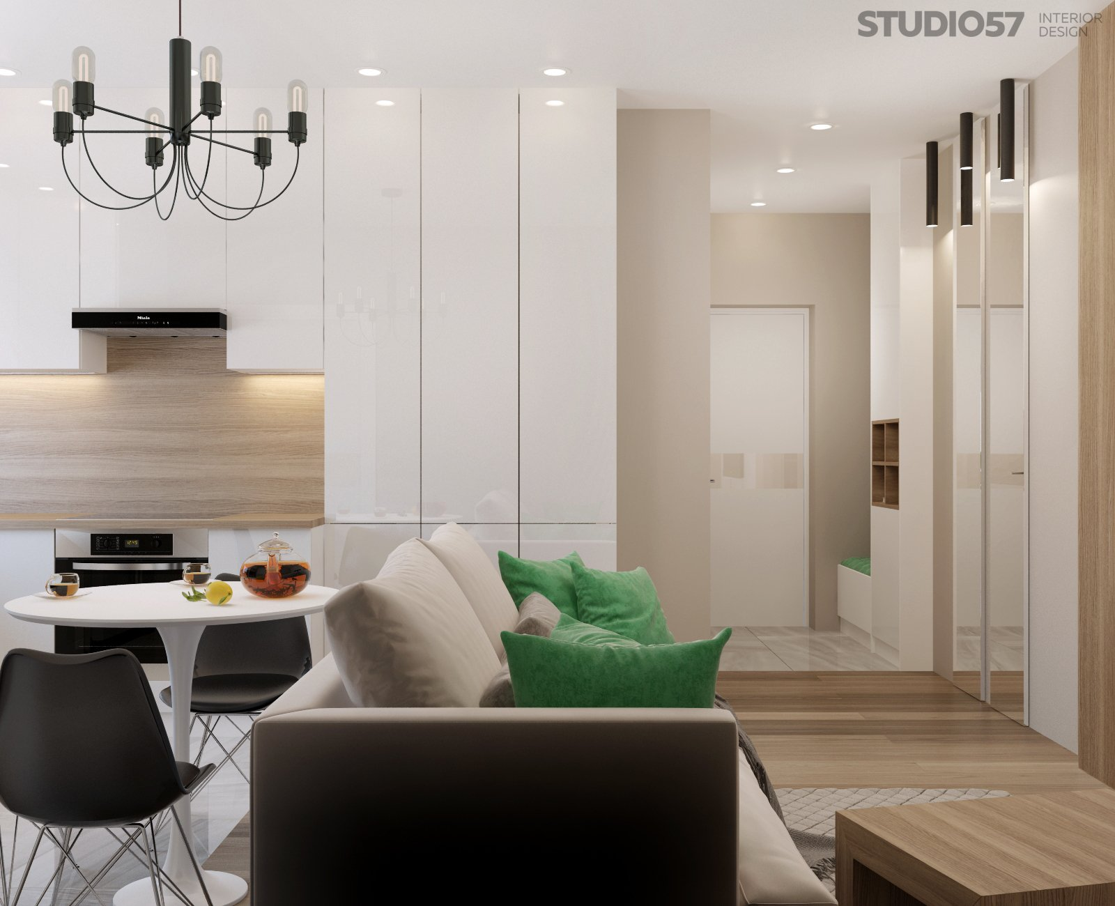 Modern style apartment photos