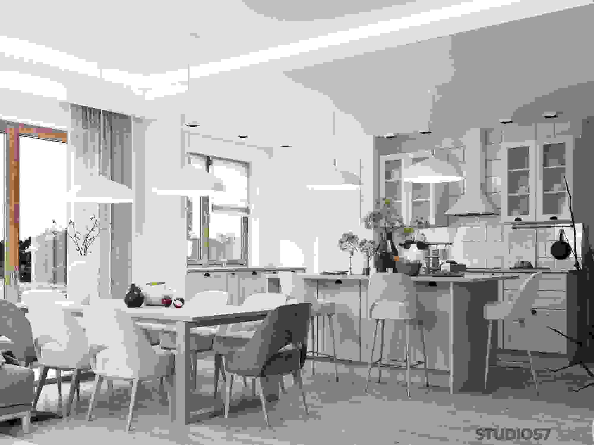 Image of kitchen in eco-style