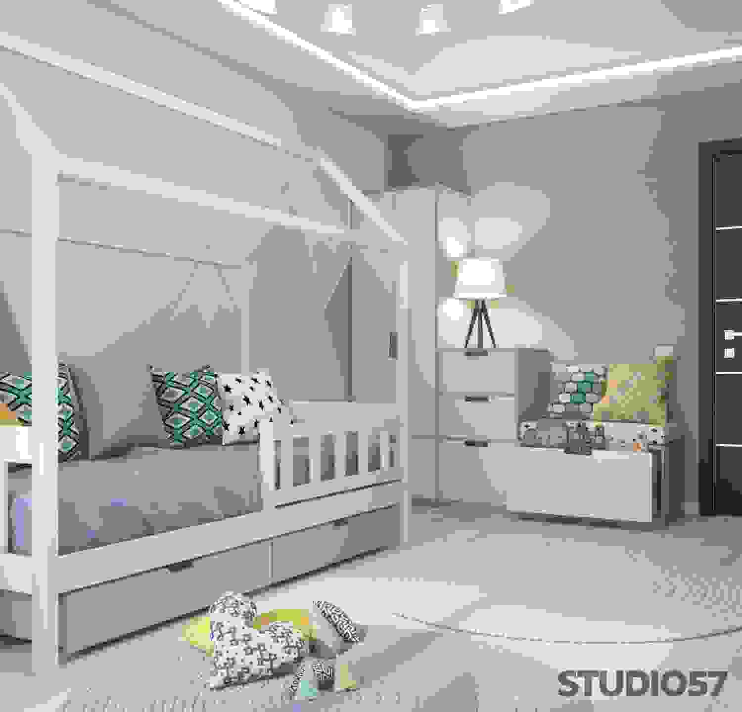 Nursery Contemporary Style Photo