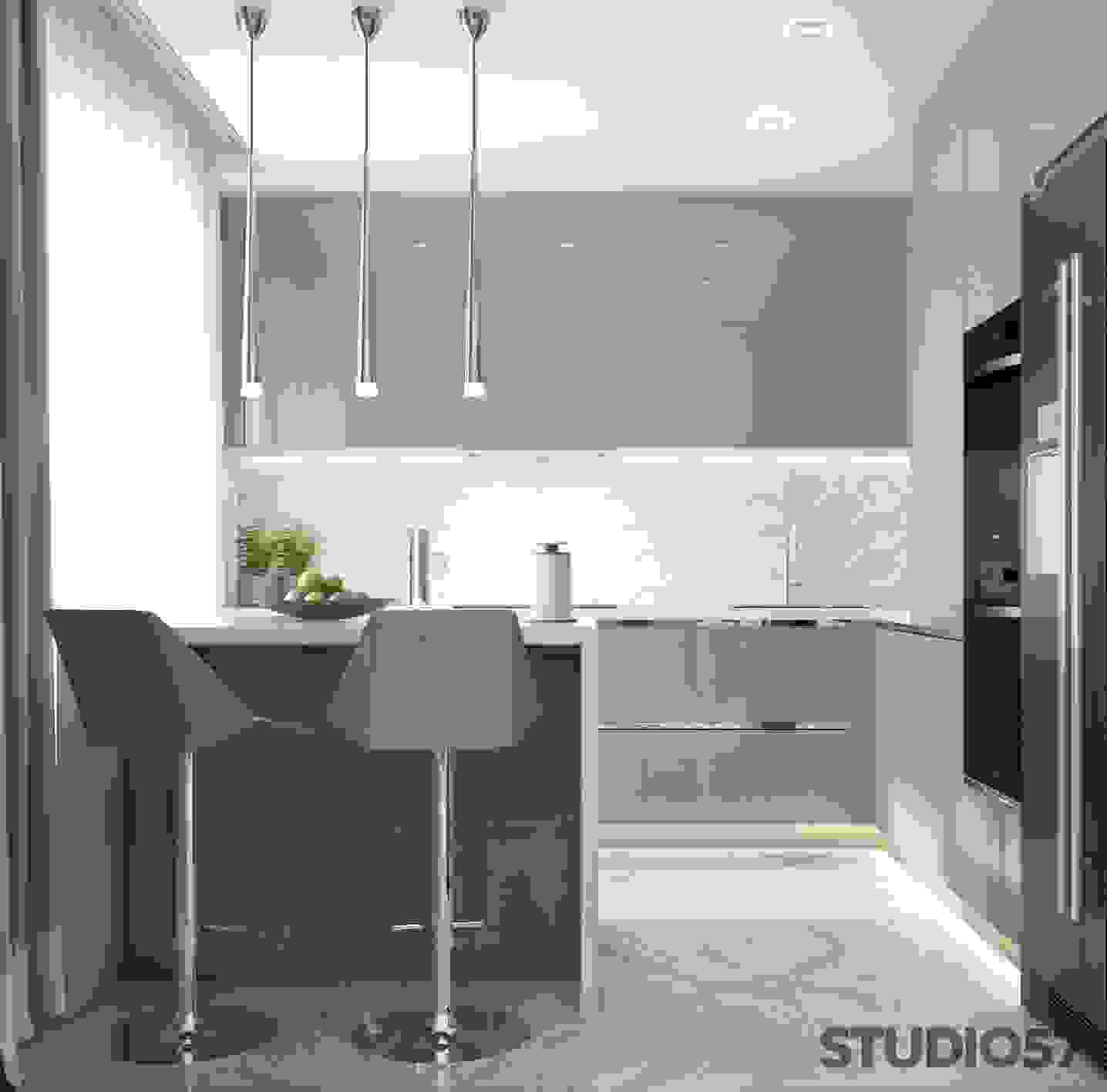 Kitchen in the style of Contemporary image